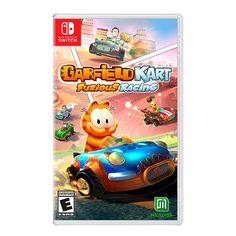 Garfield Kart Furious Racing for Nintendo Switch - Nintendo Game Details Playstation, Tmnt, Minions, Garfield, Pokemon, Adrien Y Marinette, New Video Games, Only Play, Nintendo Switch Games
