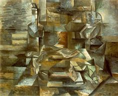 Cubism, one of the most influential visual art styles of the early twentieth century, was created by Pablo Picasso and Georges Braque in Paris between 1907 and 1914. Description from massimogienda.blogspot.com. I searched for this on bing.com/images