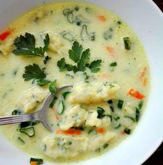 Soup Recipes, Diet Recipes, Cooking Recipes, Parsnip Soup, Healthy Recepies, Good Food, Yummy Food, Polish Recipes, Polish Food