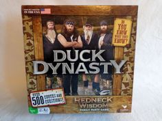 Duck Dynasty Redneck Wisdom Family Party Game Cardinal 2013 Quotes Questions #Cardinal
