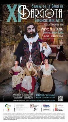 Semana de la Brujería y Mercado de la Brujería, en Bargota, #Navarra ¿Quieres saber más? => http://www.turismo.navarra.es/esp/organice-viaje/recurso/Ocioycultura/4442/Semana-de-la-Brujeria.htm