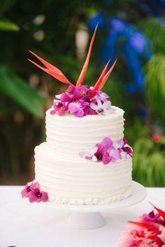 Tropical cake: http://www.stylemepretty.com/australia-weddings/queensland-au/2015/04/14/modern-tropical-queensland-wedding/   Photography: Sass Studios - http://www.sassstudios.com/blog/