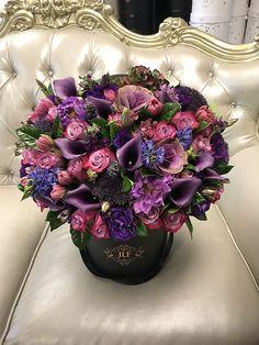 Mix Flowers Arrangement by JadoreLesFleurs #jadorelesfleurs #JLF  #roses #flowers #purple #pink #luxury #colorful