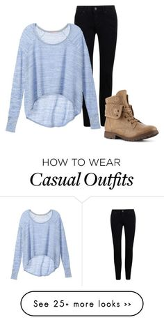"""Casual"" by blueelephant365 on Polyvore featuring Victoria's Secret"