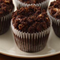 Chocolate-Caramel Crumb Cupcakes from Smucker's®