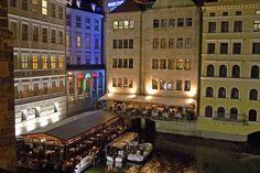 Things to do in Prague - Vltava River dining  #czech #castle #europe #prague #church #history #relax #thingstodo #travel #traveltherenext