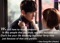 Ji Chang Wook and Park Min Young Jung So Min, Healer Korean, Healer Drama, Ji Chang Wook Healer, Bed Scene, Drama News, Korean Drama Quotes, Drama Funny, Drama Fever