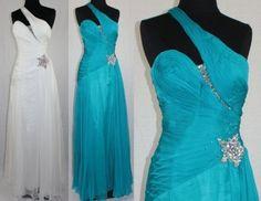 Blue Long Graduation Dresses for 8th Grade 2013