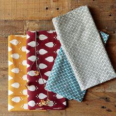 block printed napkins