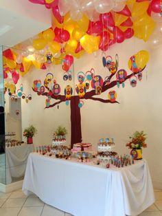 Festa Corujas da Bru organizada pela @Ana Luiza Masi