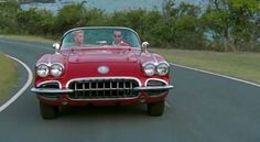 Among the cars that Johnny Depp owns is this 1959 Corvette