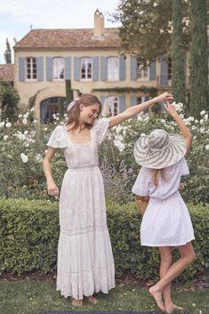 Aerin x Love Shack Fancy Collaboration Moda Boho, Feminine Style, Dream Dress, Marie, White Dress, Glamour, Street Style, Lingerie, Style Inspiration