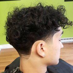 Medium Curly Cut With Undercut