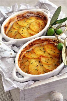 Potato&Olive Gratin