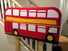 London bus headboard
