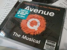 Jeff Marx, creator of Avenue Q, signed this for me today: Everything in life is only for now!