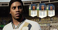 Latest FIFA 18 FUT Icons video shows off Ronaldinho's fancy footwork Ps4, Playstation, Ea Sports, Kids Sports, Ronaldinho Fifa, Xbox 360, Nintendo Switch, Nike Football Boots, Messi Soccer