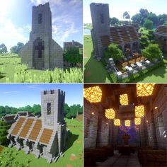 Minecraft Medeival Church
