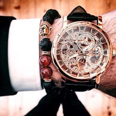 Make sure you leave home in a timely fashion.  Get 15% of your order with discount code  DSD15   This is your shop for high quality men's accessories at a low price   http://www.stockholmtrust.com/