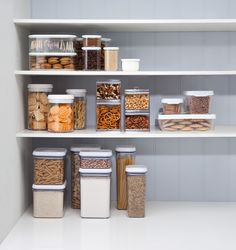 Organise the Kitchen. Imagine a complete collection of quality containers. There is a container to suit every item in your pantry. Available at Howards Storage World.