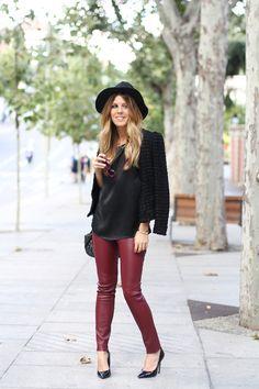 Ladylike Jacket & Leather
