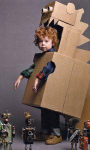 Juega con cajas de cartón