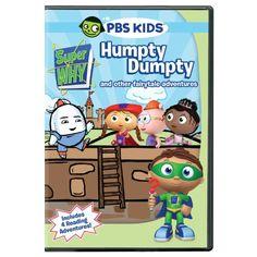 Super Why: Humpty Dumpty & Other Fairytale Adventures PBS http://www.amazon.com/dp/B004AR4W0S/ref=cm_sw_r_pi_dp_KVBjub0G4YSGF