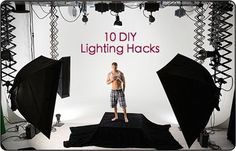 DIY Lighting Hacks for Digital Photographers - Digital Photography School. Digital Photography School, Photoshop Photography, Light Photography, Image Photography, Photography Tutorials, Amazing Photography, Photography Hacks, Flash Fotografia, Fotografia Tutorial