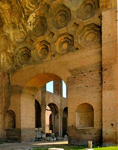 Basilica of Maxentius and Constantine, 4th century AD, Roman Forum