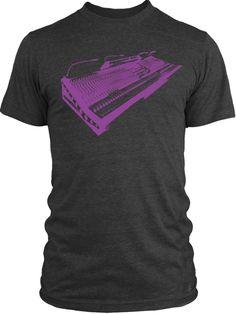 Big Texas Vintage Mixer (Violet) Vintage Tri-Blend T-Shirt