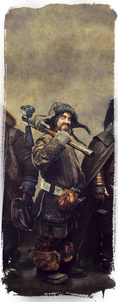 Bofur ~ The Dwarves Of The Hobbit by Gianfranco Gallo, via Behance