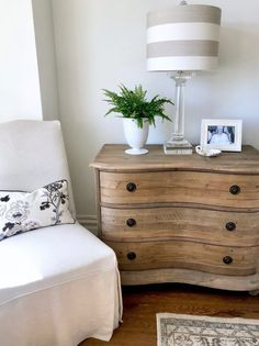 Eight TIMELESS Decorating TRENDS I'm Loving Now! – Classic Casual Home Natural pine French dresser (Think I would like this color furniture in our bedroom. Pine Bedroom Furniture, Bedroom Decor, Kitchen Furniture, Staining Wood Furniture, Furniture Cleaning, Furniture Dolly, Bedroom Sets, Dream Bedroom, Wooden Furniture