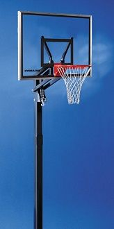 XSO 48 Inch x 36 Inch Aluminum Framed Acrylic Basketball Backboard Inground System