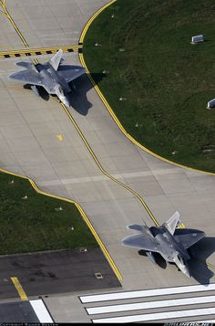 Photo taken at Spangdahlem (SPM / ETAD) in Germany on September Bomber Plane, Jet Plane, Aircraft Parts, Fighter Aircraft, Military Weapons, Military Aircraft, Air Fighter, Fighter Jets, F22 Raptor