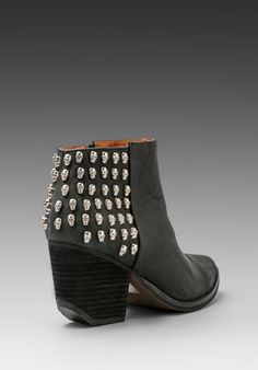 JEFFREY CAMPBELL DOA in Black/Silver -