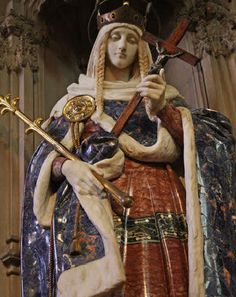 Today, 16 November, is the feast of St Margaret of Scotland who was queen to King Malcolm of Scotland. St Margaret was canonized in the year 1250 by Pope Innocent IV on account of her per Queen Margaret Of Scotland, Grand Prince, Scotland History, Catholic Saints, Catholic Art, Patron Saints, Roman Catholic, 11th Century, Anglo Saxon