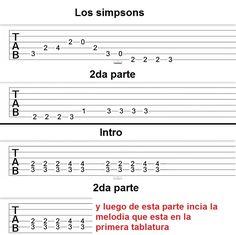 partituras para guitarra faciles con numeros - Cerca amb Google