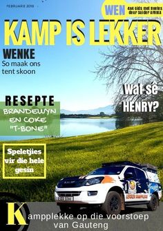 Kamp-is-Lekker-Tydskrif-Feb-2018: Kamp-is-Lekker-Tydskrif-Feb-2018 4x4, Tent, Places To Visit, Comic Books, Store, Tents, Cartoons, Comics, Comic Book