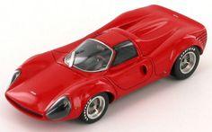 Model of the Ferrari 250 P4 Thomassima II concept car by Tom Meade.