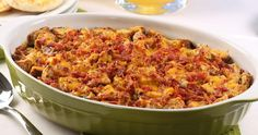 This make-ahead Bacon Spinach Strata is full of flavor, fast and filling; perfect for a weekend breakfast or brunch.