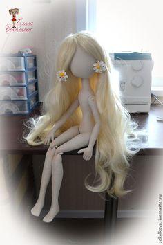 Куклы и игрушки ручной работы. Мастер-класс по созданию тела авторской текстильной куклы. Куклы   Соколковой Елены. Интернет-магазин Ярмарка Мастеров.