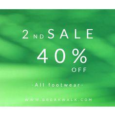 SEGUNDAS REBAJAS || Disfruta del mejor calzado para mujer en la Tienda Online de Break&Walk