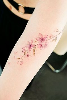 23 Flower Tattoos Designs and Meanings for Your Inspo - 21 Flower Tattoos D . - 23 Flower Tattoos Designs And Meanings For Your Inspo – 21 Flower Tattoos Designs And Meanings Fo - Delicate Flower Tattoo, Colorful Flower Tattoo, Flower Tattoo Arm, Watercolor Flower Tattoos, Vintage Flower Tattoo, Vintage Floral Tattoos, Realistic Flower Tattoo, Tiny Flower Tattoos, Colorful Tattoos