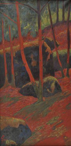 arsarteetlabore: Paul Sérusier (1864-1927), Le Bois...