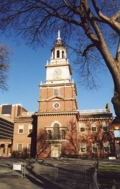 Independence Hall, Philadelphia, Pennsylvania visited and American history came to life.  And how close everything was, Ben Franklin's house and Betsy Ross' just down the road.