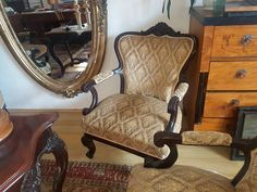 Bécsi barokk szalongarnitúra eladó Accent Chairs, Sweet Home, Furniture, Home Decor, Antique Furniture, Upholstered Chairs, Decoration Home, House Beautiful, Room Decor