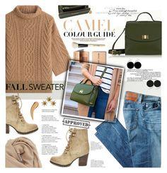 """Cozy Fall Sweater"" by giginewyork ❤ liked on Polyvore featuring Steve Madden, MaxMara, GiGi New York, Zara, LumaBase, AG Adriano Goldschmied, Bobbi Brown Cosmetics, BP. and fallsweaters"