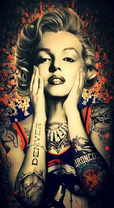 Tattoos Discover Marilyn all Tat out with DB Marilyn Monroe Tattoo Marilyn Monroe Kunst Marilyn Monroe Wallpaper Marilyn Monroe Photos Marilyn Monroe Drawing Denver Broncos Tattoo Broncos Fans Denver Broncos Images Broncos Memes Arte Marilyn Monroe, Marilyn Monroe Wallpaper, Marilyn Monroe Tattoo, Marilyn Monroe Photos, Marilyn Monroe Painting, Denver Broncos Tattoo, Denver Broncos Football, Broncos Fans, Denver Broncos Images