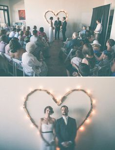 heart and lights!  Best of 2012: Details + DIY, Green Wedding Shoes