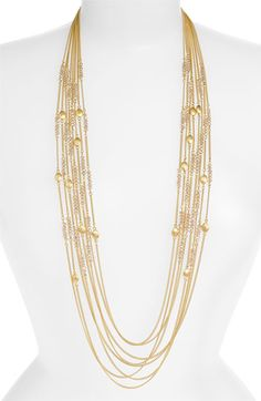 my kind of necklace - Nordstrom Crystal Collection 'Navajo' Multi Row Necklace $78